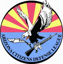 Arizona Cititzens Defense League Logo